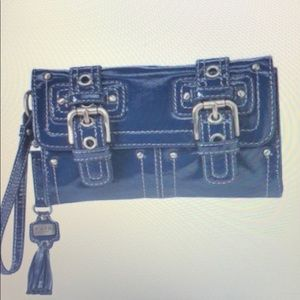 Brand New w/o tags RAFE for Target Blue Wristlet